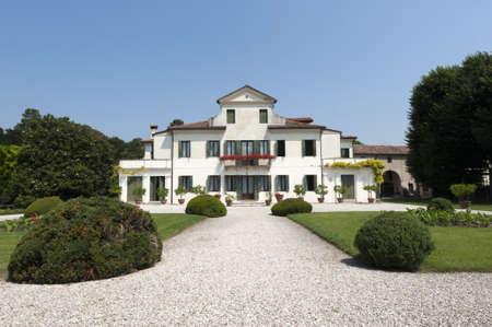 Riviera del Brenta (Veneto, Italia) - Villa Tron (19th century) Archivio Fotografico - 10900369
