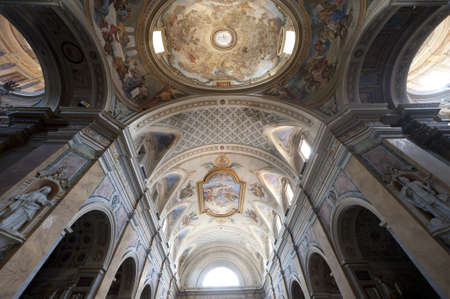 terni day: Amelia (Terni, Umbria, Italy) - Cathedral interior (all paintings and statues: 15th-19th century)
