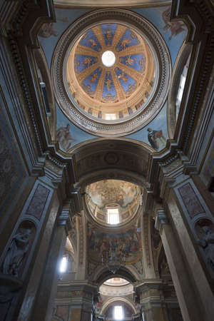 terni: Amelia (Terni, Umbria, Italy) - Cathedral interior (all paintings and statues: 15th-19th century)