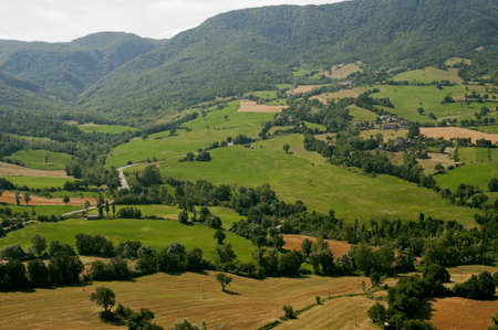 urbino: Montefeltro (Marches, Italy), landscape from Pennabilli (Pesaro Urbino) at summer