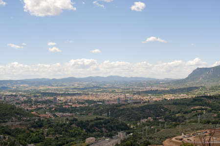 terni: Panorama of Terni (Umbria, Italy) Stock Photo