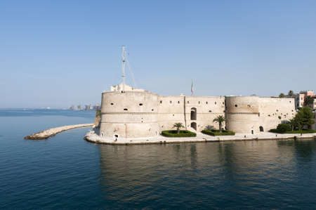 Taranto (Puglia, Italy) - Old castle on the sea