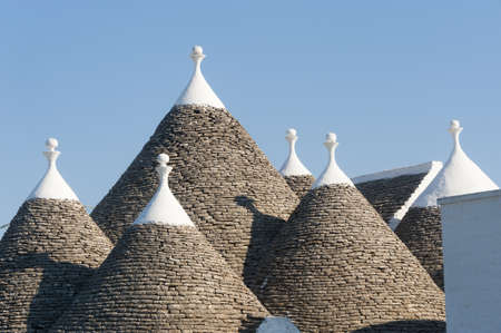 Murge (Puglia, italy) - Trulli Stock Photo