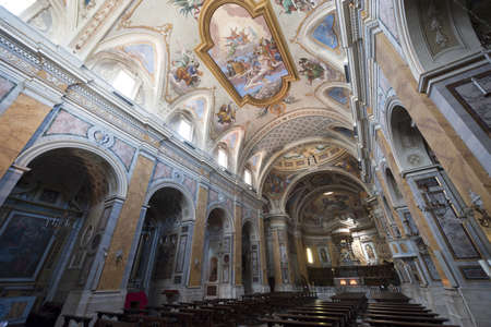 Amelia (Terni, Umbria, Italy) - Cathedral interior (all paintings and statues: 15th-19th century)