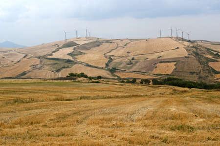 basilicata: Wind turbines in Basilicata (Italy)