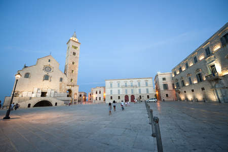 Trani (Puglia, Italy) - Medieval cathedral at night
