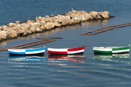 Taranto (Puglia, Italy) - Three boats photo