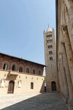 massa: Massa Marittima (Grosseto, Tuscany, Italy), the medieval cathedral