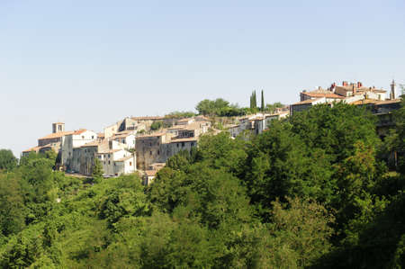 Istia d'Ombrone (Grosseto, Tuscany, Italy), old village in Maremma Stock Photo - 11904372