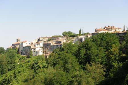 Istia d'Ombrone (Grosseto, Tuscany, Italy), old village in Maremma Stock Photo - 11904372