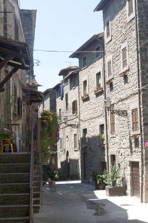 vitorchiano: Vitorchiano (Viterbo, Lazio, Italy), old typical town