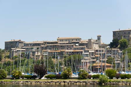 Capodimonte (Viterbo, Lazio, Italy), on the Bolsena lake Stock Photo - 11999349