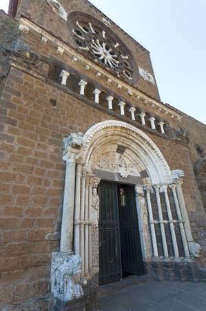 tuscania: Tuscania (Viterbo, Lazio, Italy) - Medieval church of Santa Maria Maggiore, facade