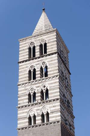 viterbo: Viterbo (Lazio, Italy), the historic cathedral belfry