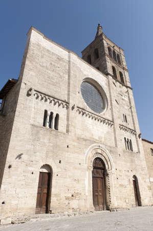 bevagna: Historic church in Bevagna (Perugia, Umbria, Italy) Stock Photo