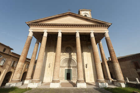 Camerino (Macerata, marches, Italy): church of San Venanzio, in neo-gothic style Stock Photo - 12299173