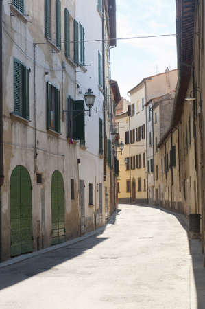 Old street in SInalunga (Arezzo, Tuscany, Italy)