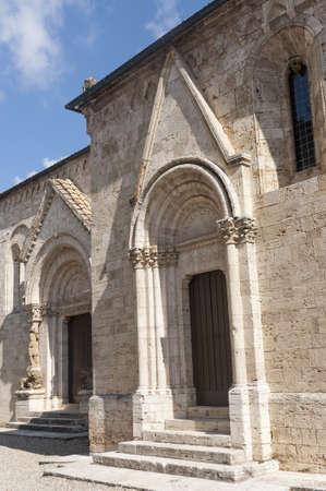 san quirico dorcia: San Quirico dOrcia (Siena, Tuscany, Italy), historic church