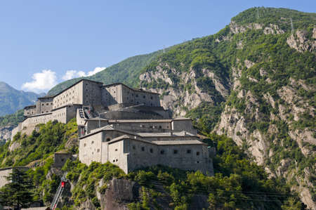 bard: Bard  Aosta, Italy  - The ancient fortress