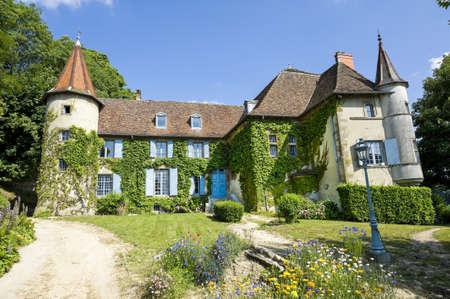 La-Tour-du-Pin (Isere, Rhone-Alpes, France) - Castle and its garden