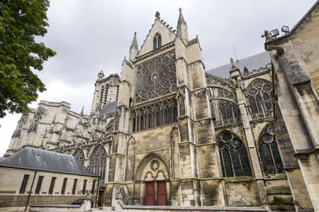 Troyes (Aube, Champagne-Ardenne, France) - Ancient cathedral, in gothic style Stock Photo - 14013574