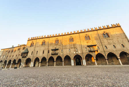 ducale: Palazzo Ducale in Mantua (Lombardy, Italy) at evening.