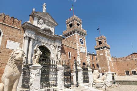 arsenal: Venice (Venezia, Veneto, Italy), the historic arsenal