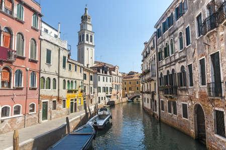 Venice (Venezia, Veneto, Italy), old typical buildings on a canal Stock Photo - 15233233