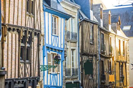 Le Mans (Sarthe, Pays de la Loire, France) - Buildings in the ancient city