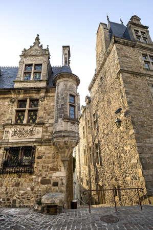 pays: Le Mans (Sarthe, Pays de la Loire, France) - Buildings in the ancient city