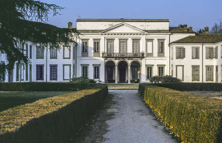 17th: Parco di Monza (Lombardy, Italy) - Palazzo Mirabello, built in the 17th century
