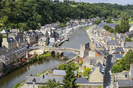 dinan: Dinan (Cotes-dArmor, Brittany, France) - Ancient town along the river