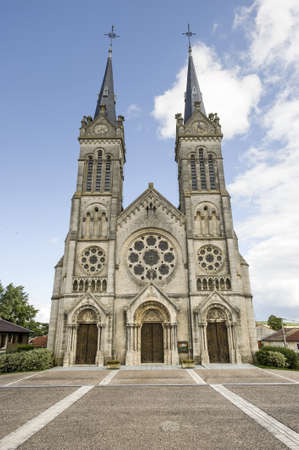 meuse: Euville (Meuse, Lorraine, France) - Exterior of the ancient church