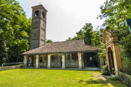 crema: Sanctuary of Marzale, near Crema (Cremona, Lombardy, Italy) Stock Photo