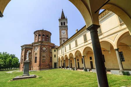 crema: Sanctuary of Misericordia (Cremona, Lombardy, Italy), church and portico