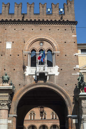 Ferrara (Emilia Romagna, Italy) - Historic buildings near the Cathedral
