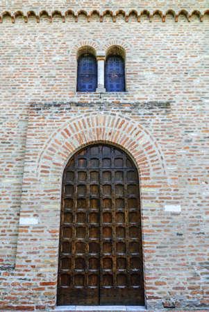 San Vito (Ferrara, Emilia Romagna, Italy) - Church in Romanesque style Stock Photo - 17288716