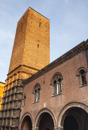 Ravenna (Emilia Romagna, Italy) - Tilted medieval tower Stock Photo - 17288709
