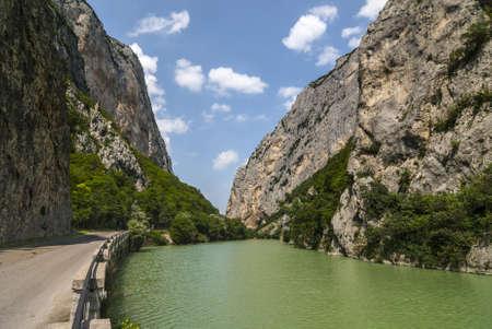 Furlo (Pesaro Urbino, Marches) - The famous gorge