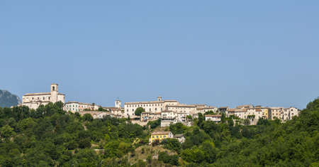 Sassoferrato (Pesaro Urbino, Marches, Italy) - Panoramic view photo