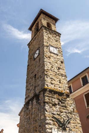 rieti: Amatrice (Rieti, Lazio, Italy) - Ancient clock tower