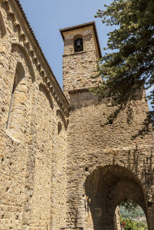 rieti: Amatrice (Rieti, Lazio, Italy) - The medieval church of SantAgostino