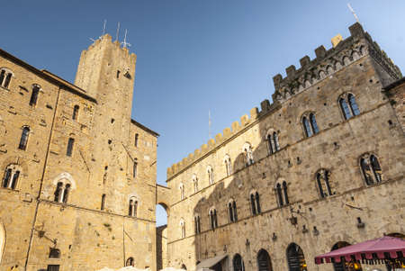 volterra: Volterra (Pisa, Tuscany, Italy) - Two medieval buildings