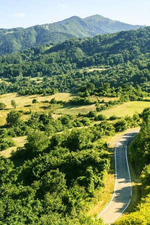 appennino: Passo del Cirone (Parma, Emilia, Italy) - Mountain landscape in the Appennino