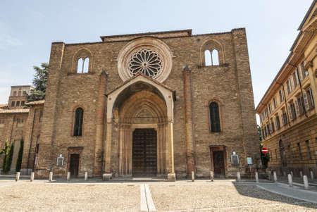 francesco: Lodi (Lombardy, Italy) - Medieval church of San Francesco Stock Photo