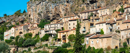 millau: Peyre, old village near Millau (Aveyron, Midi-Pyrenees, France)