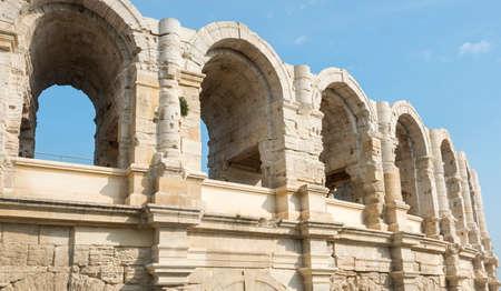 arles: Arles (Bouches-du-Rhone, Provence-Alpes-Cote dAzur, France) - Les Arenes, the Roman Amphitheatre