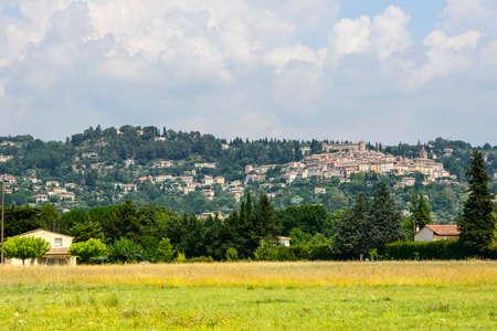 var: Old village (Var, Provence-Alpes-Cote dAzur, France): panoramic view