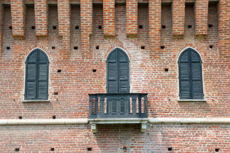 sforzesco: Galliate (Novara, Piedmont, Italy), the castle known as Castello Sforzesco Editorial
