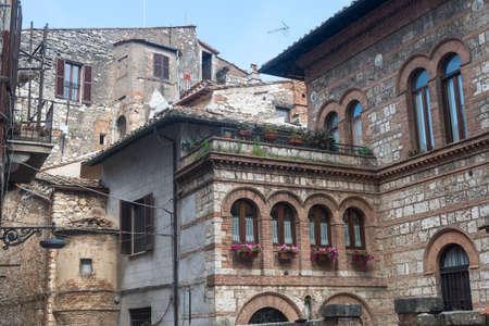 terni day: Narni (Terni, Umbria, Italy), medieval city: historic buildings
